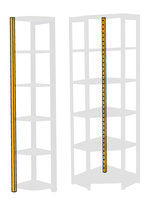 Hörnstople 118 cm